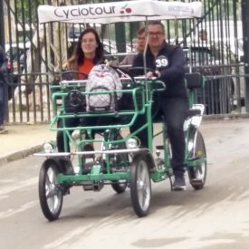 Isabel foto Bicicletas Sevilla -5